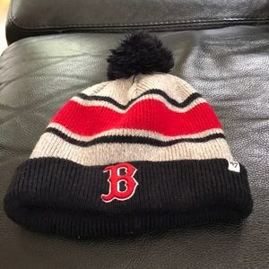Red Sox winter hat